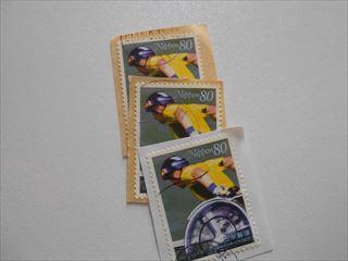 障害者スポーツ記念切手