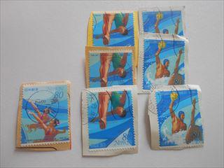 世界水泳選手権大会記念切手