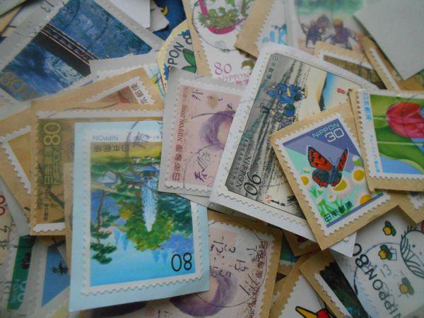 余白の少ない切手