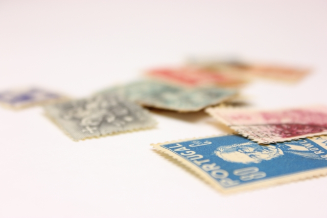 使用済み切手